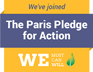 We've joined the Paris Pledge for Action